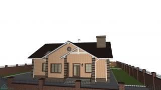 Проект большого мансардного дома на 4 спальни   E-185-ТП(, 2016-10-28T10:10:24.000Z)
