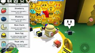Short opening of 46 Royal Jelly In Bee Swarm [ROBLOX]