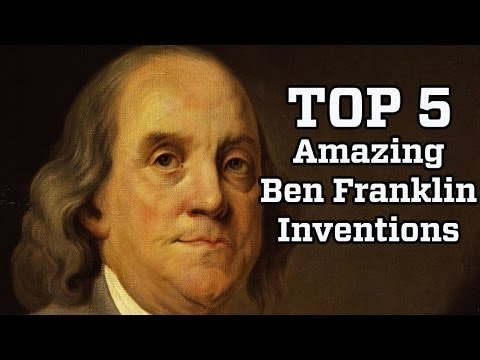 5 Amazing Inventions by Benjamin Franklin