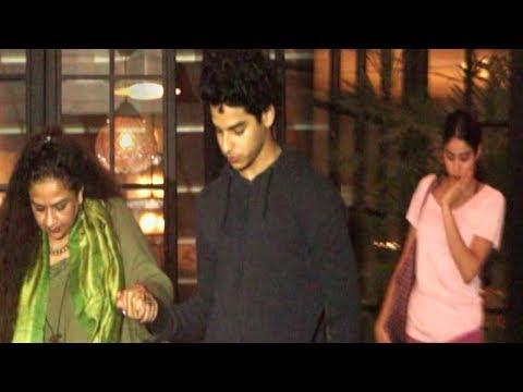 Janhvi Kapoor , Ishaan Khatter and Neelima Azeem