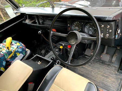 The Interior - 1976 Land Rover Series 3 88