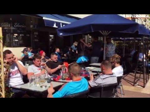 OM-Salzbourg : l'ambiance monte dans les rues de Marseille