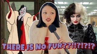 the problem with Cruella's costumes...