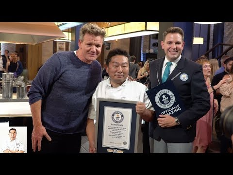 Guinness World Record Title & Gordon Ramsay: Good Afternoon!!