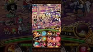 [OPTC] Colosseum Coby - Timeskip Luffy team (1:46) トレクル!コロシアム vs コビー!新世界ルフィパ!