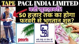 Pacl india limited! Good news || February 2019 se 50,000 tak ka bhugtaan shuru? || pacl latest news