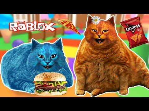 САМЫЕ ТОЛСТЫЕ КОТЫ / ЕШЬ или УМРИ в РОБЛОКС / EAT Or DIE Roblox