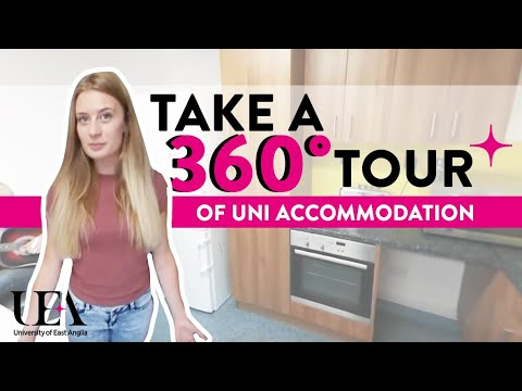 En Suite Village 360° Student Accommodation Tour  | University of East Anglia (UEA)