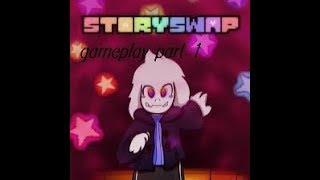 Storyswap Color:Asriel Genocide Battle Gameplay part 1