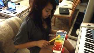 What Makes You Beautiful by One Direction (Xylophone Cover)