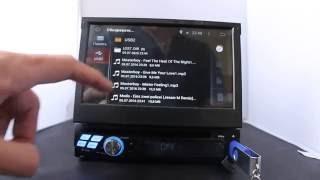 Mstar Магнитола 1 DIN с выдвижным экраном KD-8600(1 дин магнитола с выдвижным экраном тмMstar (KD-8600) Сайт для заказа http://auto-da.ru/products/1din-magnitola-android-4-mstar-kd-8300.html Телеф..., 2016-07-05T16:56:46.000Z)