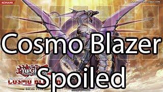 Yugioh Cosmo Blazer Spoiled!