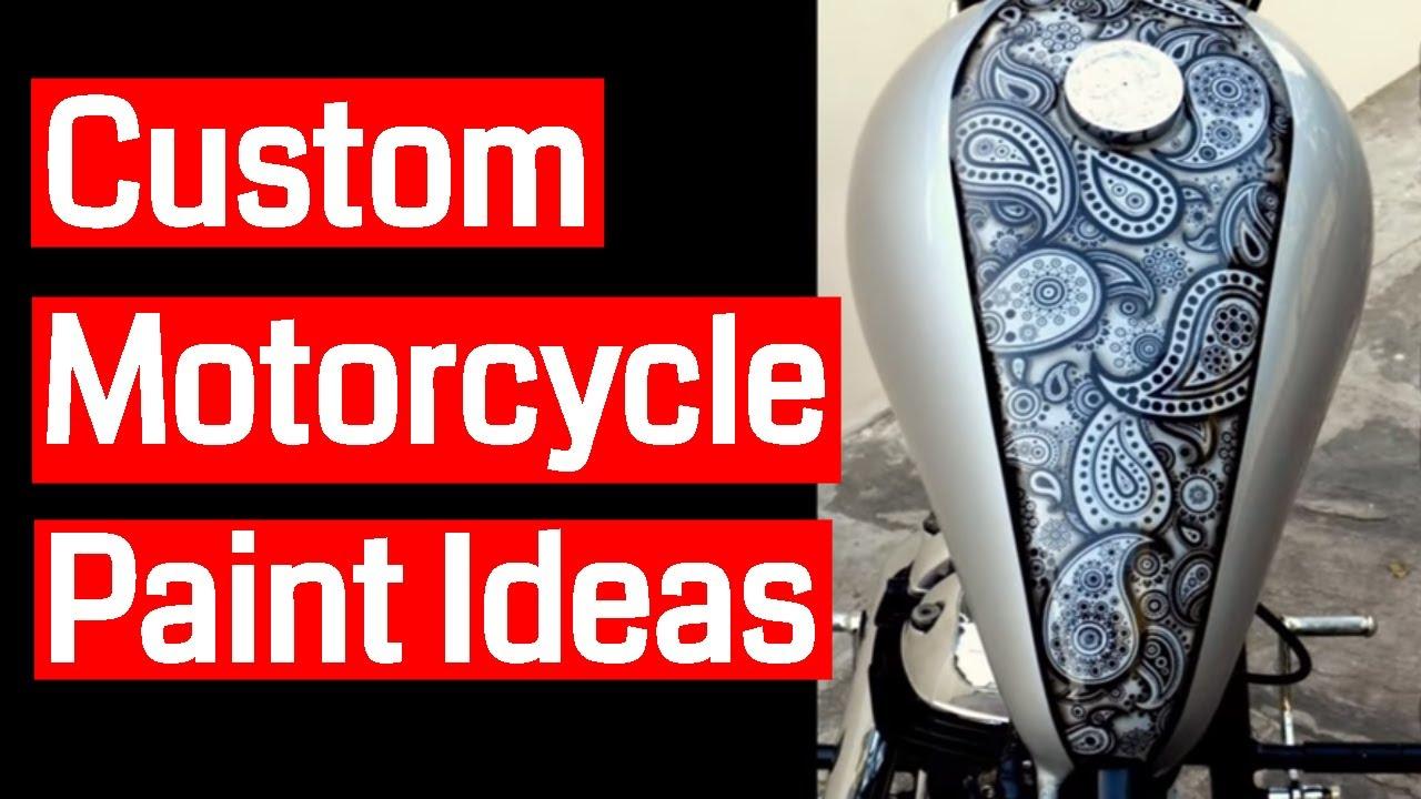 Custom Motorcycle Paint Ideas Youtube