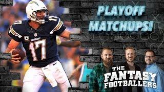 Fantasy Football 2016 - Playoff Primer, Pump the Brakes, News - Ep. #309