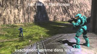 Red vs Blue OST - Bow Chicka Bow Wow - Lyrics + Traduction FR