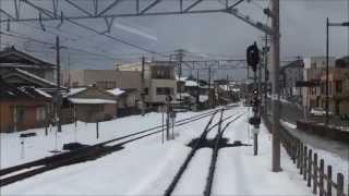 七尾駅~和倉温泉駅 石川県 2013/02/24.