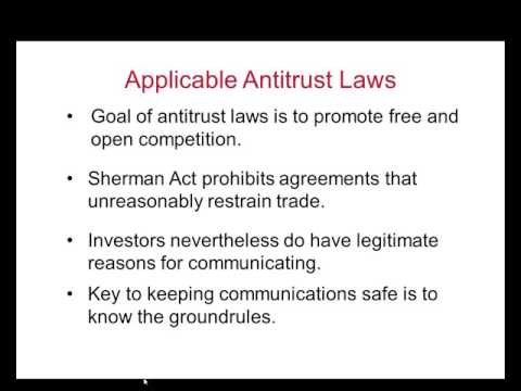 Antitrust Compliance 2015 05 19