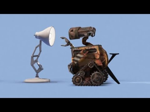WALL·E Fixes The Pixar Logo