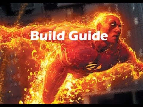 Marvel Heroes: Human Torch Build Guide