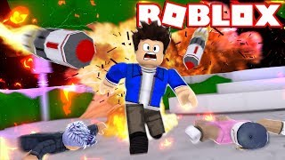 NUCLEAR BOMBS ARE FALLING FROM THE SKY-ROBLOX!!!