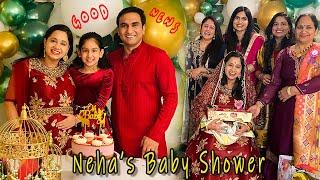 Good News - Neha's Baby Shower   Lalit Shokeen Vlogs