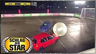 Spiel 10 - Autoball - Schlag den Star