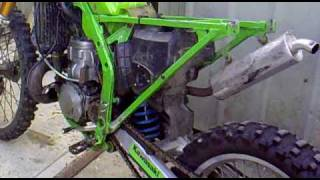 1990 KX250 Running After Being Sized