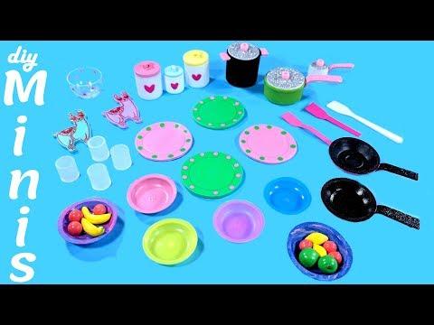 10 DIY Miniature Easy Kitchen Crafts
