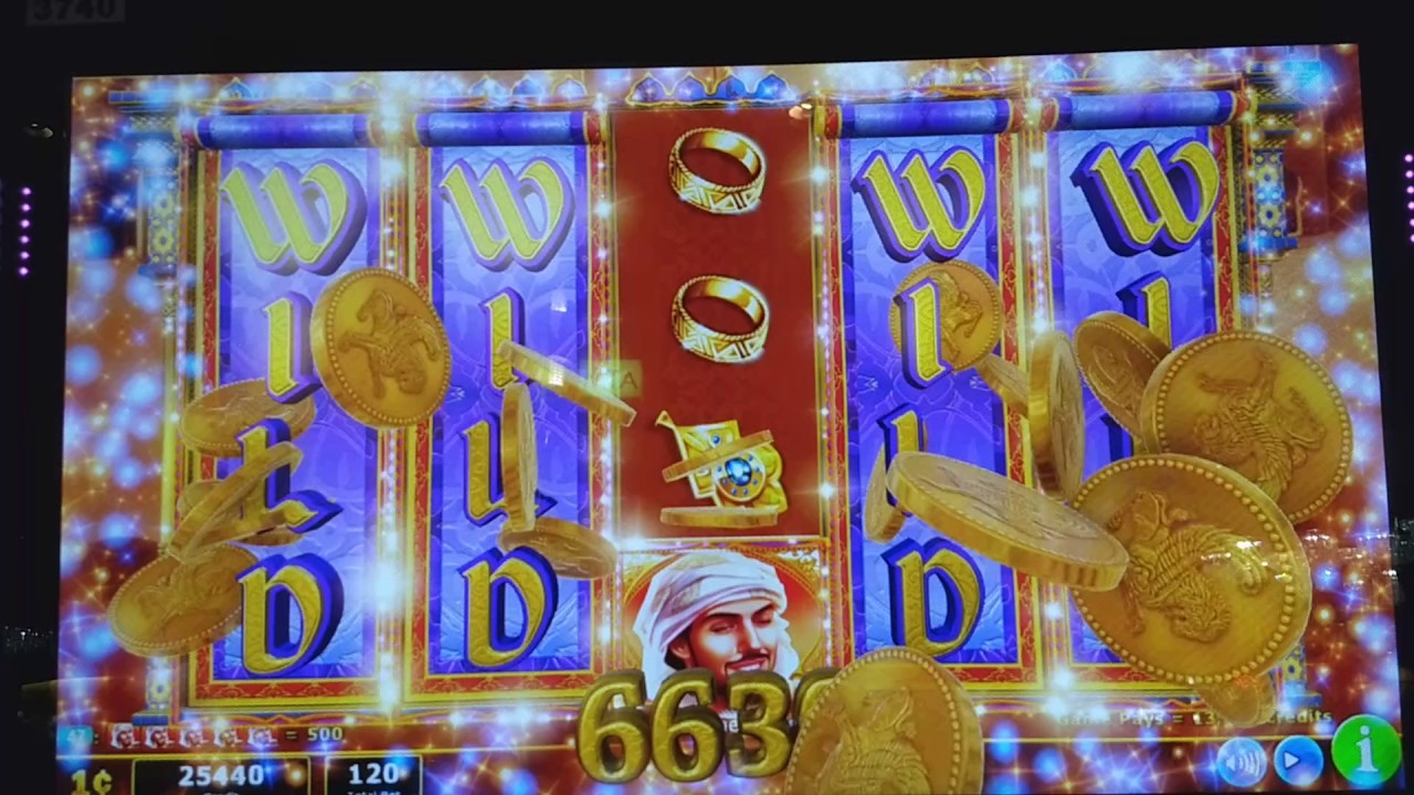 Aladdin Slot Machine