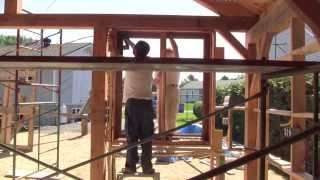 The Woodpecker Ep 63 -  Building The New Shop Part 10 - Window Frames