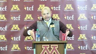 Press Conference: P.J. Fleck on Gophers