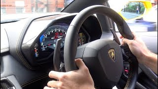 Lamborghini Aventador S Insane Sounds in the City!