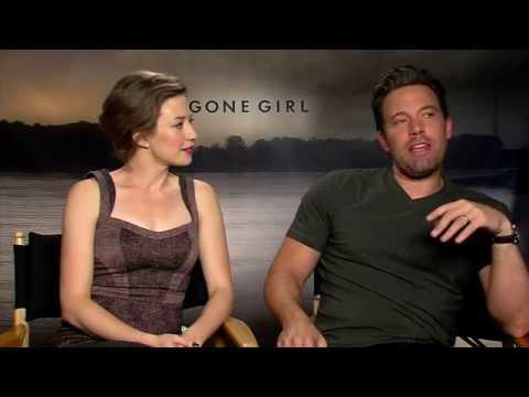 GONE GIRL  with Ben Affleck & Carrie Coon  Leftovers, Batman, Leeroy Jenkins