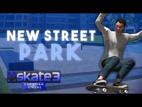 Custom Street Skatepark - Skate 3 Gameplay