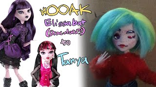OOAK Doll Custom - Elissabat To Tanya (and A Channel Shift)