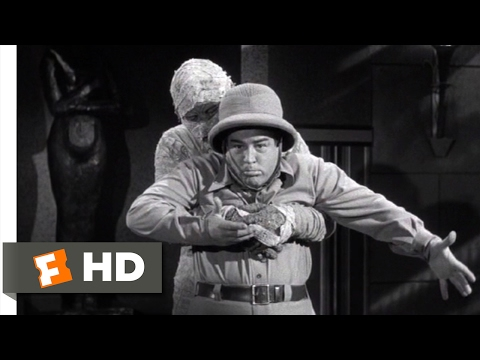 Abbott and Costello Meet the Mummy (1955) - You Can Come Out Now Scene (7/10) | Movieclips Mp3