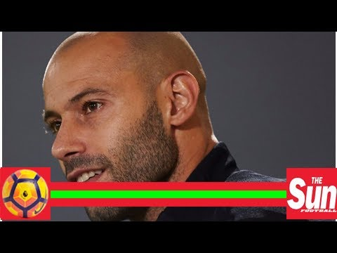 Javier mascherano linked with river plate return with barcelona opportunities now limited