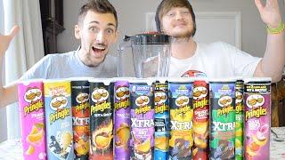 Ultimate Blended Pringles Challenge | WheresMyChallenge