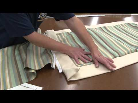 How to Make a Zippered Pillow Sham Part 2 YouTube