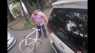 Automovilista agrede a ciclista #DONCHINGADERA