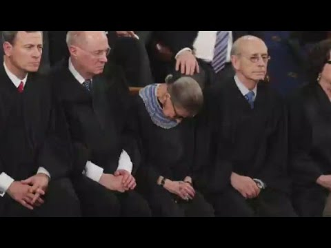 Thumbnail: Justice Ginsburg: I drank before president's speech