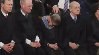 Justice Ginsburg: I drank before president's speech