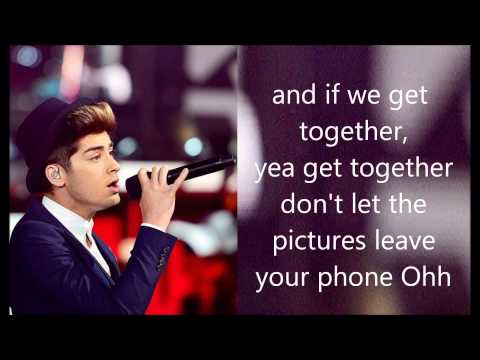 One Direction  Live While We're Young Lyrics and Pictures
