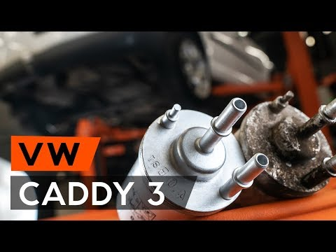 How To Replace Fuel Filter VW CADDY 3 (2KB)  [TUTORIAL AUTODOC]