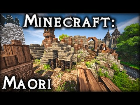 DakrCraft: Costal Maori pa (by MechanicalBreezy)
