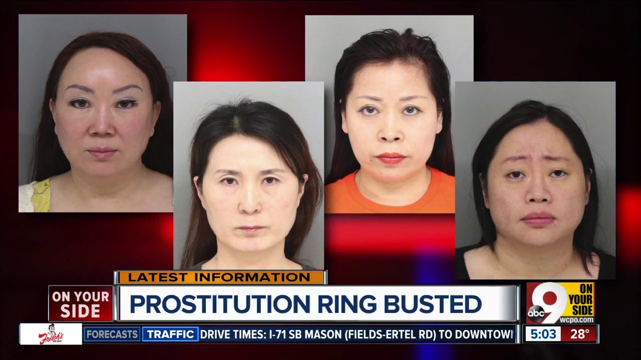 Asian Massage Parlor Bust