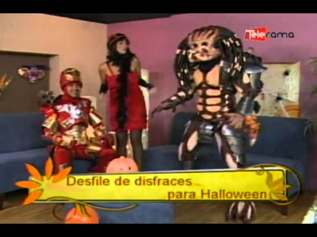 Desfile de disfraces para Halloween