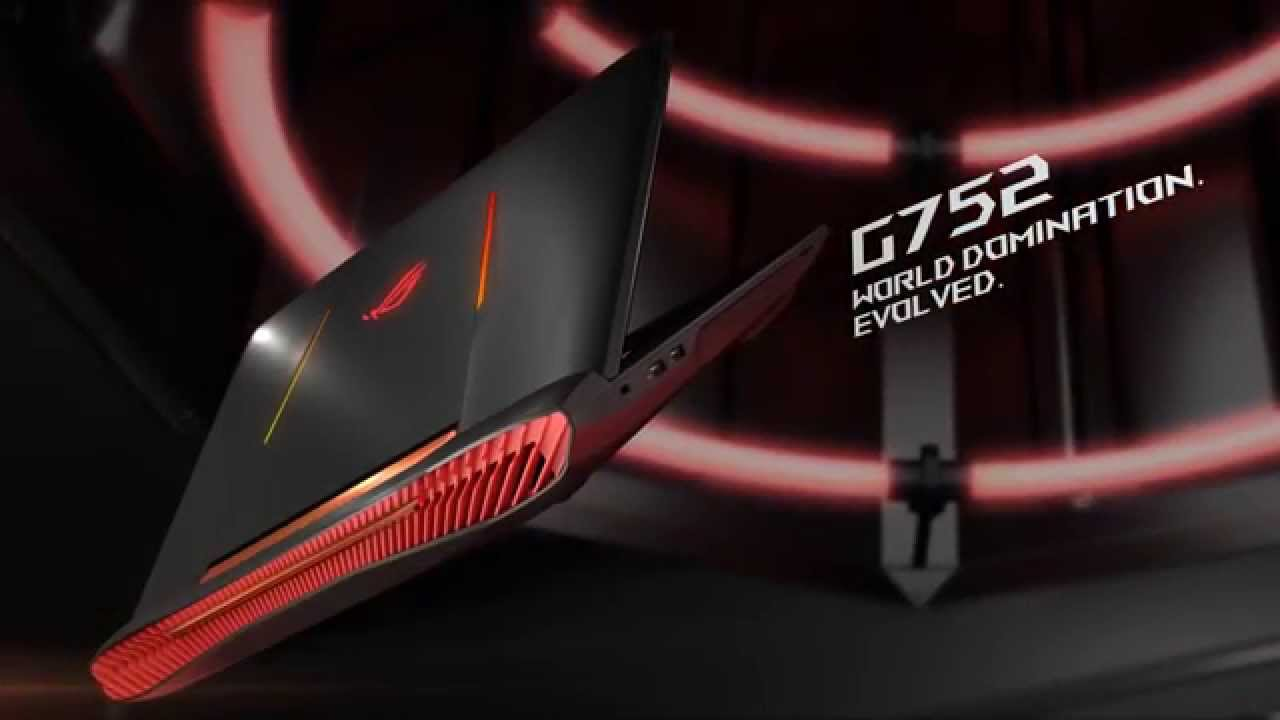 ASUS ROG G752 Gaming Laptop - YouTube