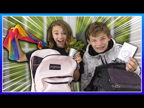 WHAT'S IN OUR BACKPACKS? School Is Out! | We Are The Davises