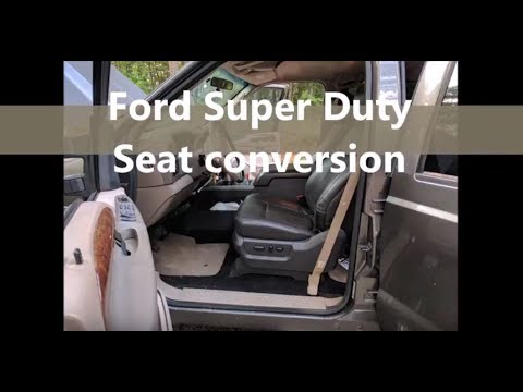 Ford Super Duty Seat Upgrade/swap/conversion (republish)